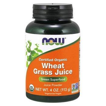 Купить Now Foods Organic Wheat Grass Juice 100 % Pure Juice Powder 11...