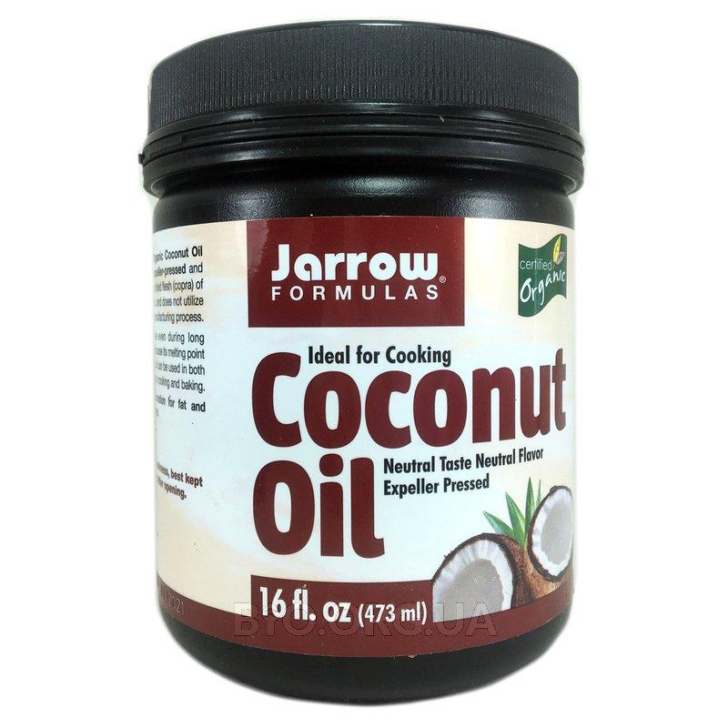 Органическое рафинированное кокосовое масло 454 г фото товара
