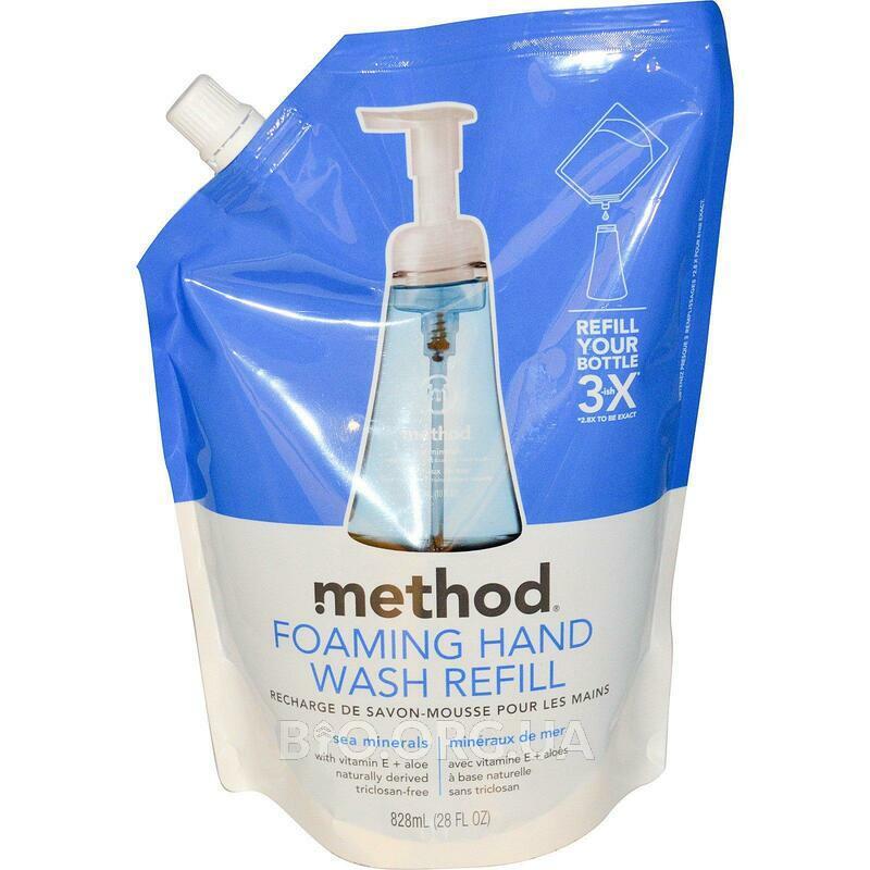 Метод Пенка для мытья рук Refill Sea Minerals 828 мл фото товара