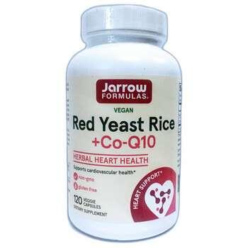 Купить Jarrow Formulas Red Yeast Rice + Co-Q10 120 Veggie Caps