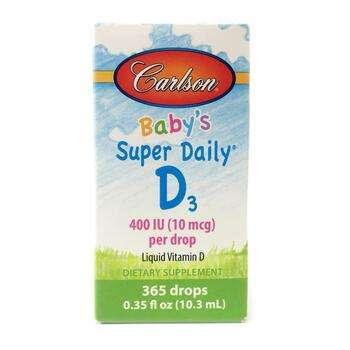 Купить Baby's Super Daily D3 400 IU 10.3 ml ( Дитячий вітамін Д3 в кр...