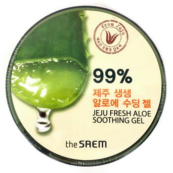 Купить Jeju Fresh Aloe 90% Soothing Gel 300 ml (Заспокійливий гель зі...