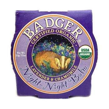 Купить Бадгер Компани детский ночной бальзам с лавандой и ромашкой 21 г