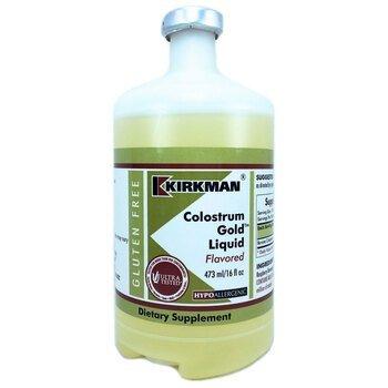 Купить Kirkman Colostrum Gold Liquid Flavored 473 ml