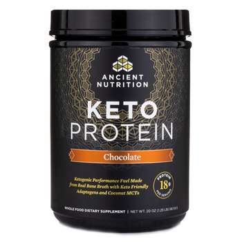 Купить Ancient Nutrition Keto Protein Powder Chocolate 548 g