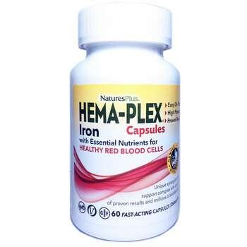 Купить Nature's Plus Hema-Plex 60 Capsules