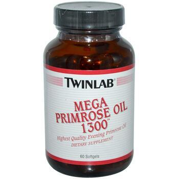 Купить Twinlab Mega Primrose Oil 1300 60 Softgels