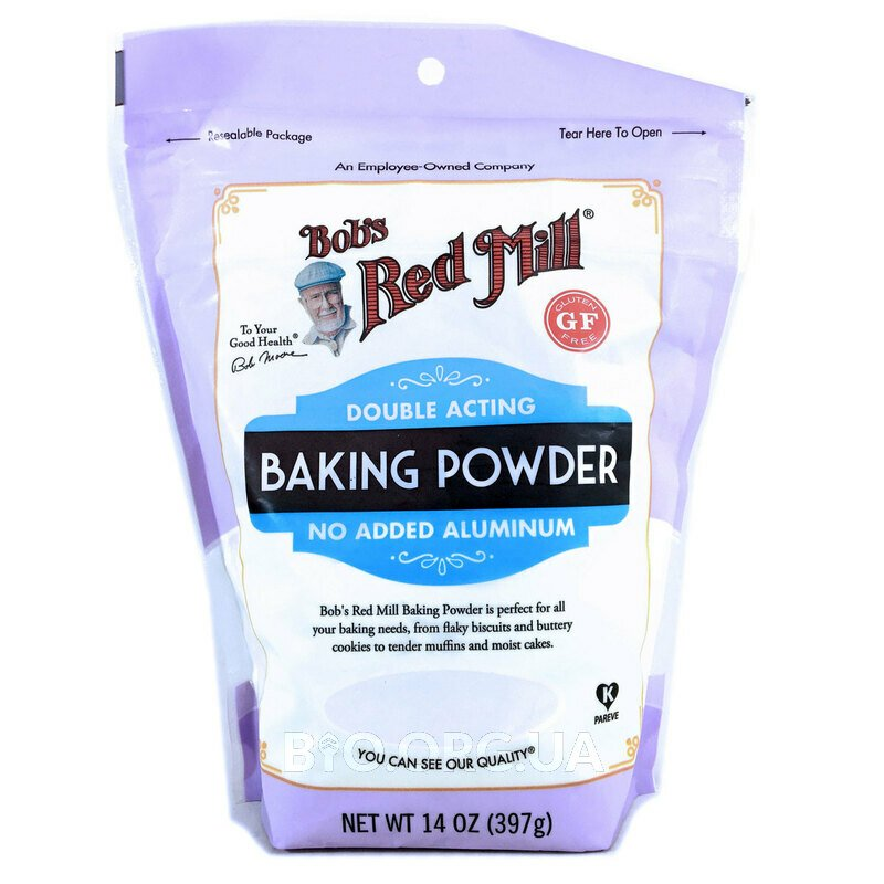 Double Acting Baking Powder Gluten Free 397 g
