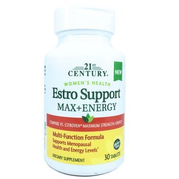Купить 21st Century Estro Support Max + Energy 30 Tablets