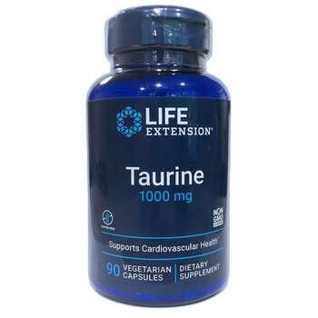 Купить Taurine 1000 mg 90 Vegetarian Capsules ( Таурин 1000 мг 90 кап...