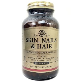 Купить Skin Nails & Hair Advanced MSM Formula 120 Tablets
