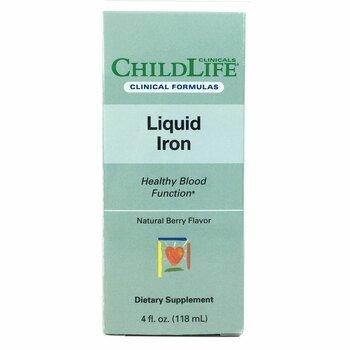 Купить Childlife Clinicals Liquid Iron 10 ml Natural Berry 118 ml