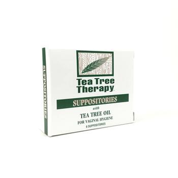 Купить Suppositories with Tea Tree Oil for Vaginal Hygiene 6 Supposit...