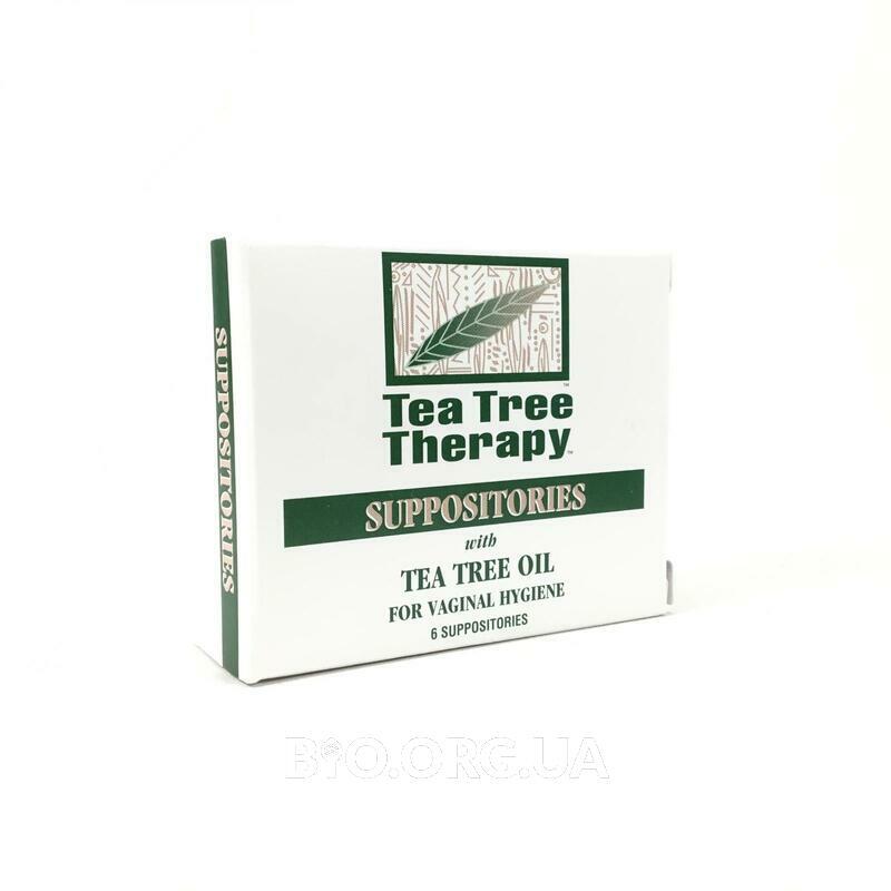 Чайная терапия Суппозитории с маслом чайного дерева для гигиены вагинальный Суппозитории 6