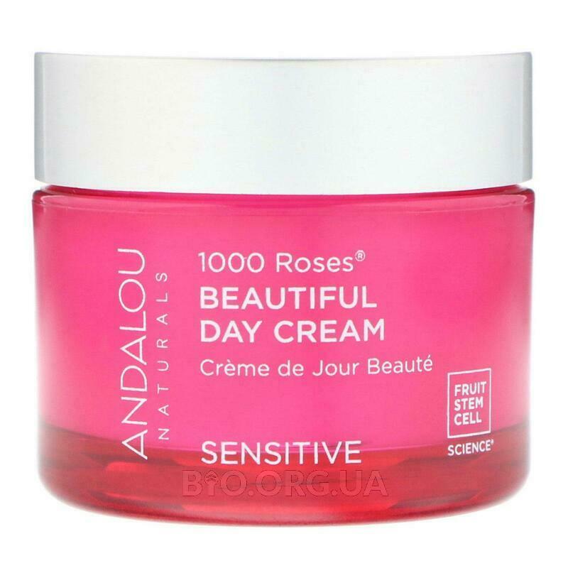 Андалу Нейчералс Дневной крем для чувствительной кожи 1000 роз... фото товара