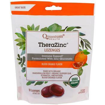 Купить TheraZinc Lozenges Blood Orange Flavor 18 Lozenges  (Квантовое...