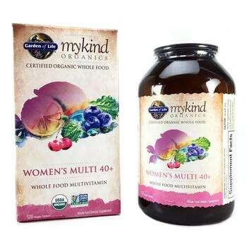 Купить Organic Women's Multi 40+ Whole Food Multivitamin 120 Vegan Ta...