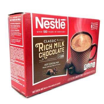 Купить Nestle Hot Cocoa Mix Rich Milk Chocolate Flavor 6 Packets 20.2...
