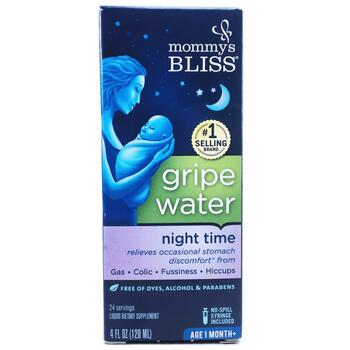 Купить Mommy's Bliss Night Time Gripe Water 1 Month 120 ml