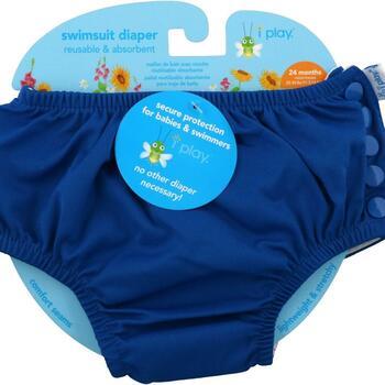 Купить Swimsuit Diaper Reusable & Absorbent 24 Months Royal Blue 1 Di...