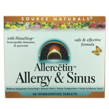 Купить Allercetin Allergy & Sinus 48 Homeopathic Tablets