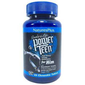 Купить Nature's Plus Source of Life Power Teen For Him 60 Tablets