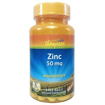 Купить Thompson Zinc 50 mg 60 Tablets