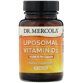Купить Liposomal Vitamin D3 10000 IU 90 Capsules