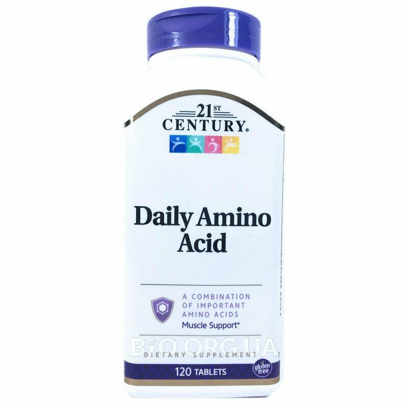 21 век Ежедневные аминокислоты максимального действия 120 табл... фото товара