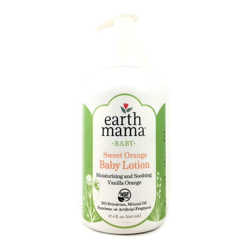 Earth Mama Angel Baby Angel Baby Lotion Natural Vanilla Orange 240 ml
