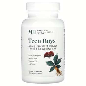 Купить Michael's Naturopathic Teen Boys Caps Daily Multi-Vitamin 60 V...
