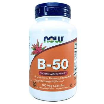 Купить B-Complex B-50 100 Capsules ( Комплекс вітамінів В 50 мг 100 к...