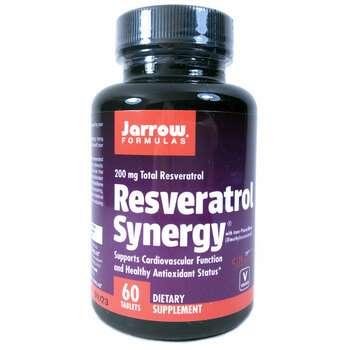 Купить Jarrow Formulas Resveratrol Synergy 200 mg Total Resveratrol 6...