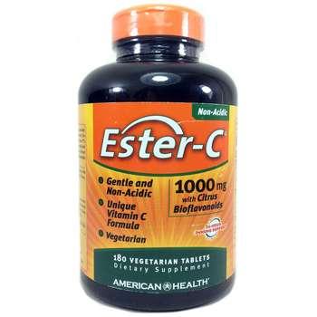 Купить American Health Ester-C 1000 mg with Citrus Bioflavonoids 180 ...