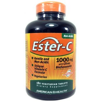 Купить Ester-C 1000 mg with Citrus Bioflavonoids 180 Vegetarian Table...
