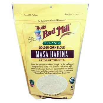 Купить Bob's Red Mill Organic Masa Harina Golden Corn Flour 680 g