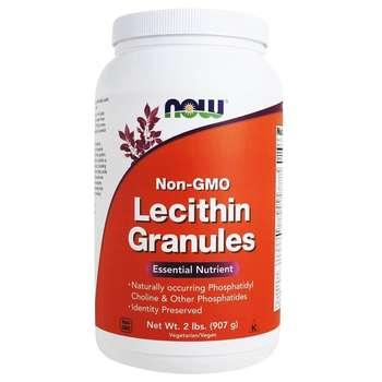 Купить Now Foods Lecithin Granules 907 g