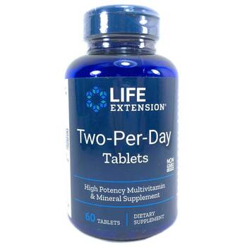 Купить Life Extension Two-Per-Day 60 Tablets