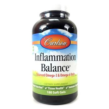 Купить Carlson Labs Inflammation Balance With Norwegian Fish Oil 180 ...