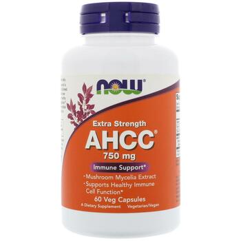 Купить Now Foods AHCC750 mg 60 Veg Capsules