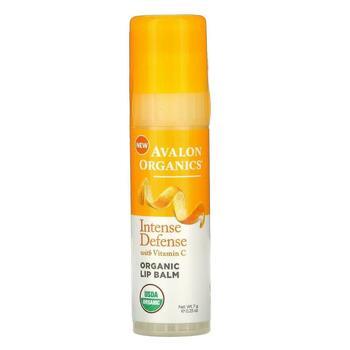 Купить Intense Defense with Vitamin C Lip Balm 7 g (Авалон Органикс Б...