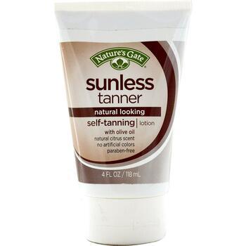 Купить Sunless Tanner Self-Tanning Lotion 118 ml (Natures Gate Sunles...