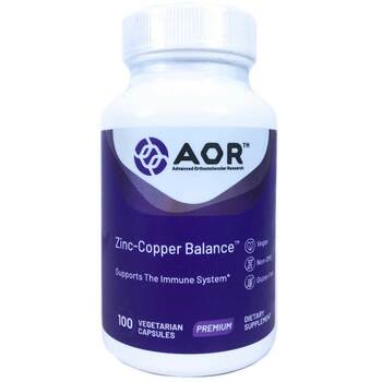 Купить Advanced Orthomolecular Research AOR Classic Series Zinc Coppe...