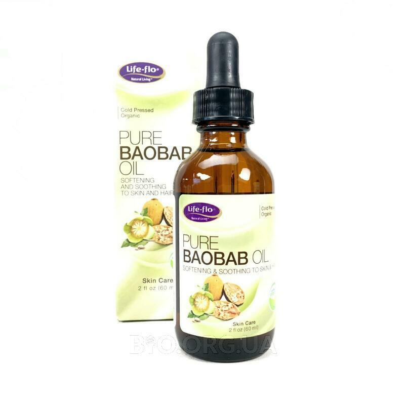 Лайф Фло чистое масло Баобаба уход за кожей 60 мл фото товара