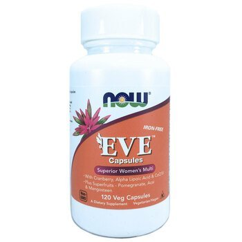 Купить Now Foods Eve Capsules Superior Women's Multi Iron-Free 120 Ve...