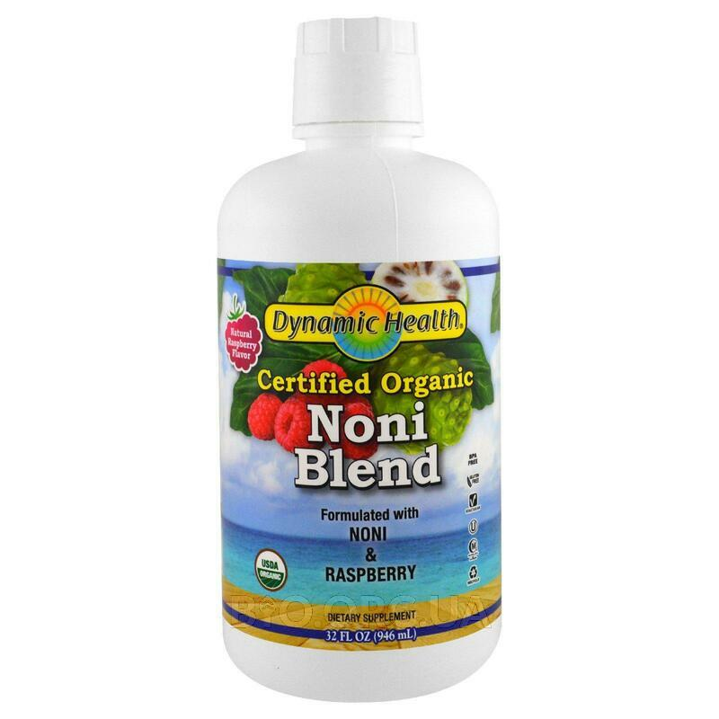 Dynamic Health Laboratories Organic Certified Noni Juice from ... фото товара