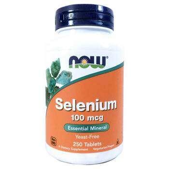 Купить Selenium Yeast Free 100 mcg 250 Tablets ( Селен без дріжджів 1...