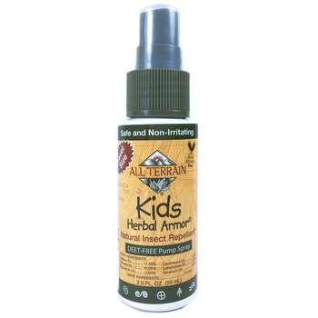 Купить All Terrain Детский Натуральный репеллент от насекомых Herbal ...