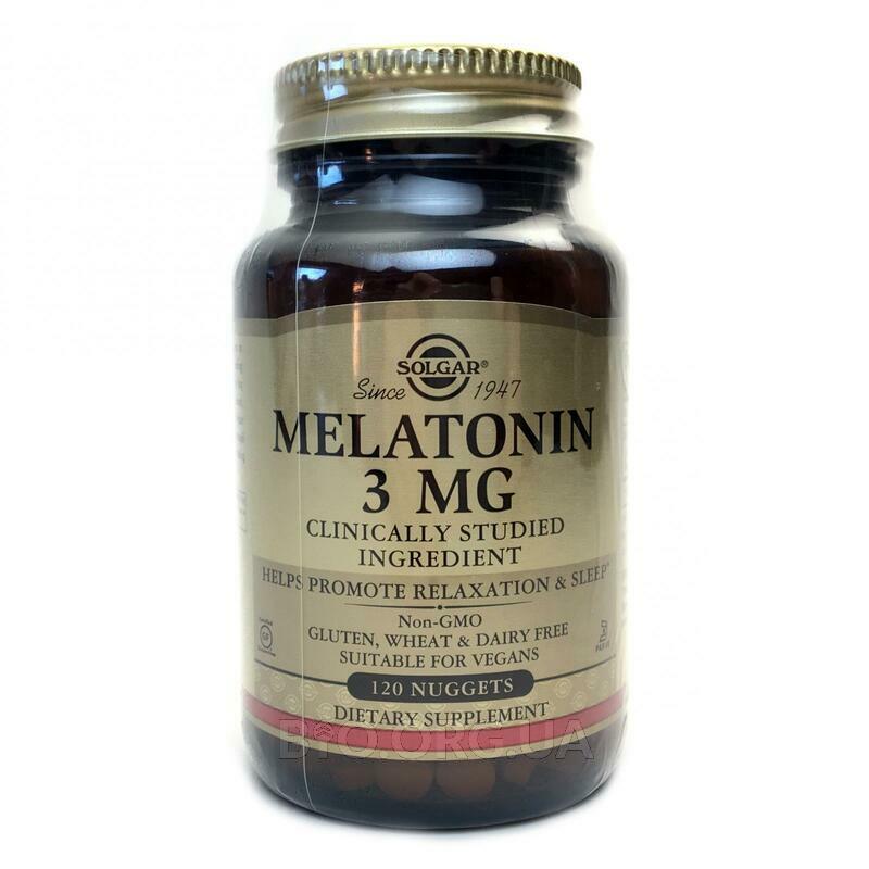 Мелатонин 3 мг 120 таблеток фото товара