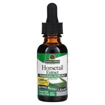 Купить Nature's Answer Horsetail Alcohol-Free 2000 mg 30 ml